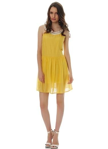 LMN by Limon Company Elbise Sarı